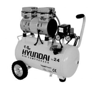 کمپرسور باد 24 لیتری بی صدا هیوندای مدل AC-1024
