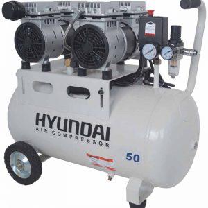 کمپرسور باد 50 لیتری بی صدا هیوندای مدل 1550-AC