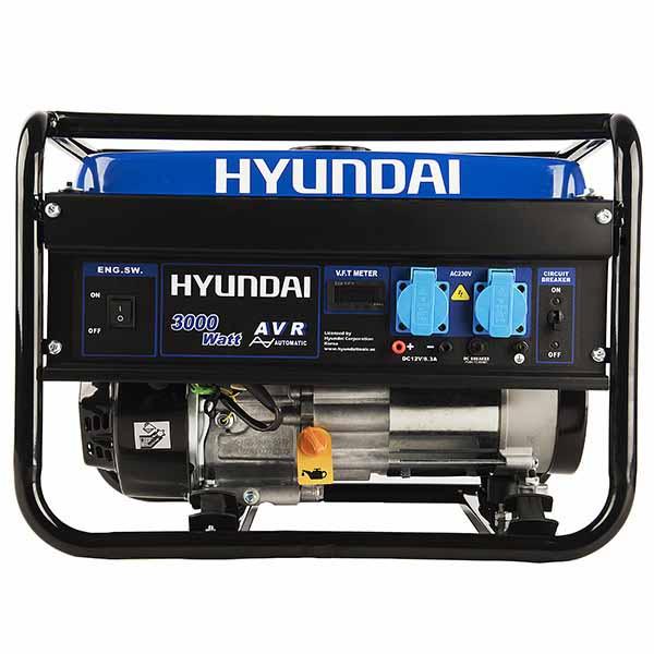 موتور برق 3 کیلو وات هيوندای مدل HG5360-PG