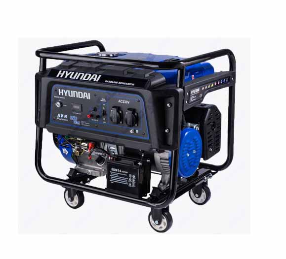 موتور برق 7500 وات بنزینی هیوندای مدل HG7525