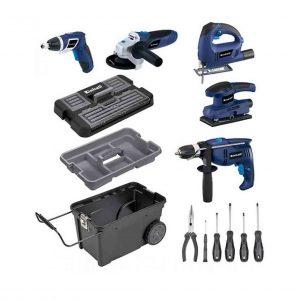 کیت ابزار برقی ، جعبه ابزار و ابزار دستی آینهل مدل BT-TK 5