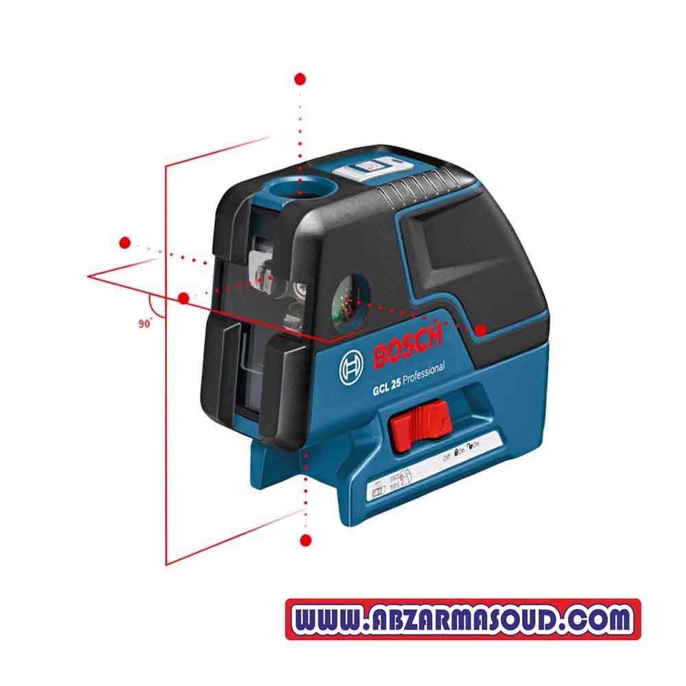 تراز لیزری ترکیبی بوش GCL 25 Professional