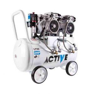 کمپرسور باد چهارسیلندر بی صدا اکتیو مدل AC-1350S